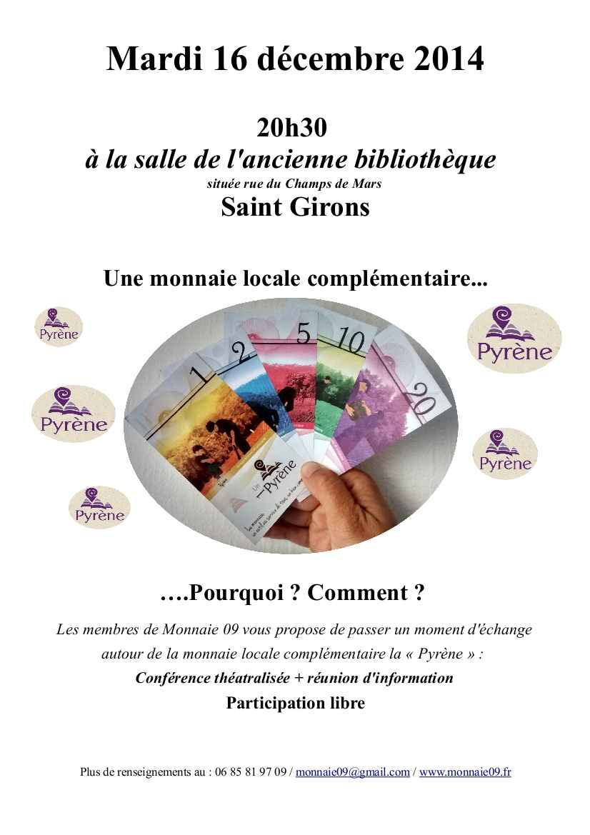 affiche conférence saint girons